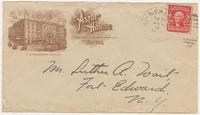Astor House. Envelope