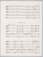Six Dances, pages 15 to 18