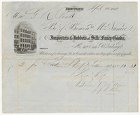 Bo. of Bowen and McNamee, bill or receipt