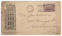 Jewelers & Tradesmen's Life Insurance Co., envelope