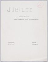 Jubliee: libretto, page A