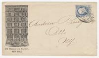 N.Y.W. Mattrress Co., envelope
