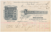 Lazell, Dalley & Co. Bill or receipt