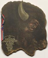 Official souvenir, 31 National Encampment, G. A. R., Buffalo, N.Y. : August 23-28, '97.  Cover.