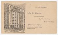John R. Waters. Envelope