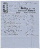 Mulford & Sprague, bill or receipt