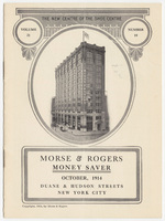 Morse & Rogers, bill or receipt