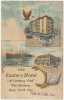 Eastern Hotel. Card stock