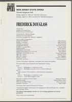 Frederick Douglass program, unnumbered page 17