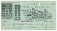 P. Nathan and Co., bill or receipt