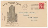 American Surety Company, envelope