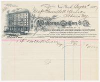 Vanhorne, Griffen & Co., bill or receipt