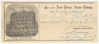 New-Yorker Staats-Leitung, bill or receipt