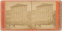 French's Hotel. Card stock