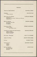 Symposium of Student Works for Orchestra, unnumbered page 4