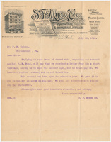 S. F. Myers & Co. Letter
