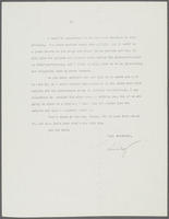 Letter from Ulysses Kay to George Irwin regarding commissions, page 2