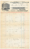 Holbrook Brothers, bill or receipt