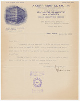 Anger-Brohel Co., Inc., letter
