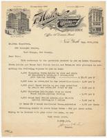 F. Huhn Inc., bill or receipt
