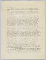 12 September 1945 letter to parents: page 1
