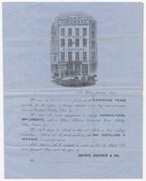 Howe, Brown & Co., letter