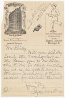 John Blakely, letter