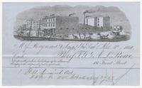 T. G. & A. L. Rowe, bill or receipt