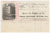B. Fischer & Co., bill or receipt