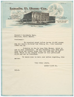Louis F. Dow Co. Recto of letter