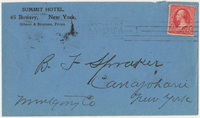Summit Hotel. Envelope