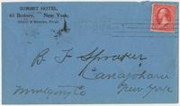Summit Hotel. Envelope