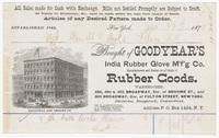 Goodyear's , bill or receipt