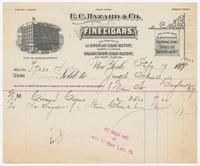 E. C. Hazard & Co., bill or receipt