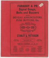 Faraday & PR, catalog