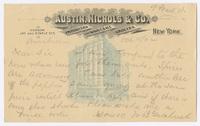 Austin, Nichols & Co., postcard