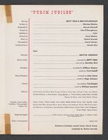 Greater New York Committee for State of Israel Bonds presents Purim Festival : Inside back cover