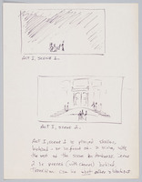 Frederick Douglass sketches for sets, Act I
