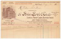 Price Bro's & Co., bill or receipt