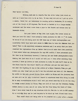 8 June 1945 letter to parents: page 1