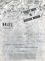 HiFi Review: Thirty Days In Musical Russia, cover