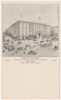 Astor House. Card stock