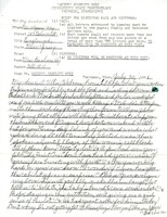 Letter to Ulysses Kay from Parchman Penitentiary