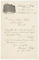 Lanman & Kemp. Bill or receipt