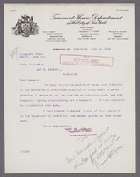 Letter from WM H Abbott to D Hedley regarding complaint 7945