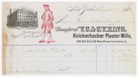 V.C. & C.V. King, bill or receipt