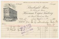 Havana Cigar Factory, bill or receipt