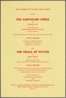 Capitoline Venus and the Trials of Psyche program, recto
