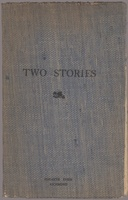 Cover of V. Woolf and L. Woolf, Two Stories
