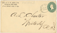 J.W. Lyon & Co. Envelope